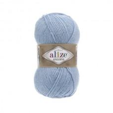 356 Пряжа Alize Alpaca Royal голубой