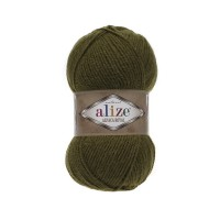 233 Пряжа Alize Alpaca Royal оливковый зеленый