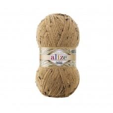 262 Пряжа Alize Alpaca Tweed светло-бежевый