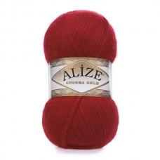106 Пряжа Alize Angora Gold красный