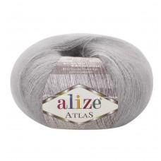 200 Пряжа Alize Atlas серый