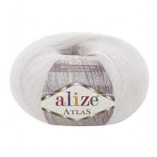 55 Пряжа Alize Atlas белый