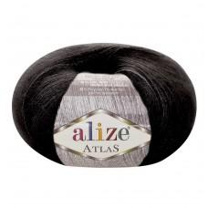 60 Пряжа Alize Atlas черный