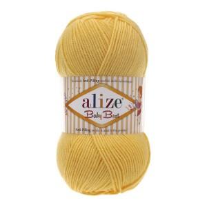 113 Пряжа Alize Baby Best желтый