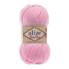 191 Пряжа Alize Baby Best светло-розовый