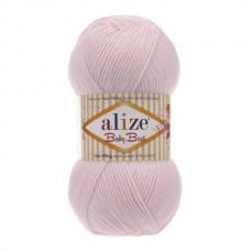 184 Пряжа Alize Baby Best розовая пудра