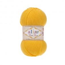 216 Пряжа Alize Baby Best желтый