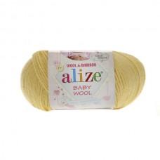 187 Пряжа Alize Baby Wool лимонный