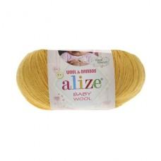 216 Пряжа Alize Baby Wool желтый