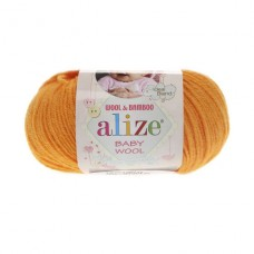 14 Пряжа Alize Baby Wool желток