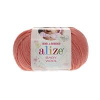 619 Пряжа Alize Baby Wool коралловый