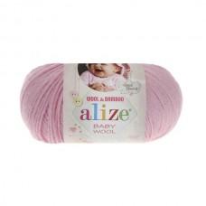 185 Пряжа Alize Baby Wool светло-розовый