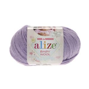 146 Пряжа Alize Baby Wool лиловый