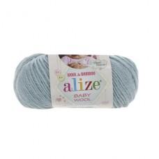 114 Пряжа Alize Baby Wool мята