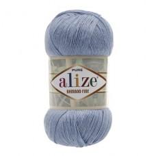 481 Пряжа Alize Bamboo Fine светло-голубой