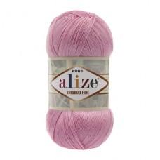 194 Пряжа Alize Bamboo Fine розовый