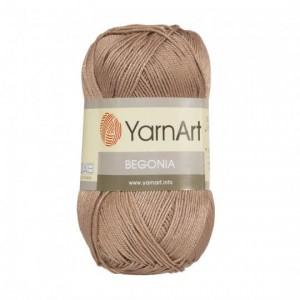 0015 Пряжа YarnArt Begonia коричневый