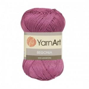 0075 Пряжа YarnArt Begonia розовый