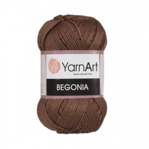0077 Пряжа YarnArt Begonia коричневый