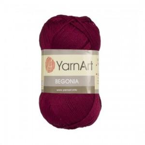0112 Пряжа YarnArt Begonia бордовый