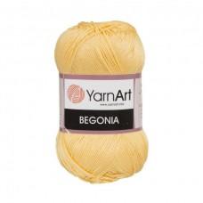 4653 Пряжа YarnArt Begonia лимон