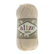 1 Пряжа Alize Bella молочный