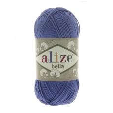 333 Пряжа Alize Bella ярко-синий