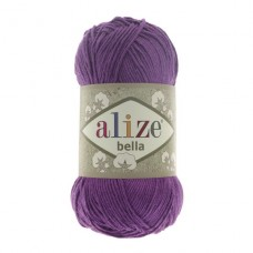 45 Пряжа Alize Bella темно-фиолетовый