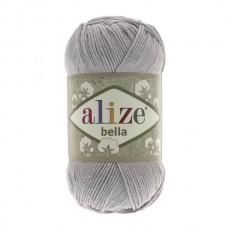 21 Пряжа Alize Bella серый