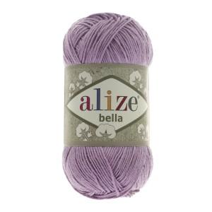 28 Пряжа Alize Bella ярко-сухая роза
