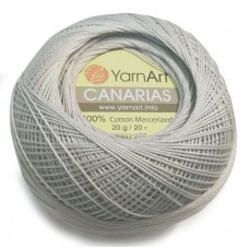 4920 Пряжа YarnArt Canarias серый