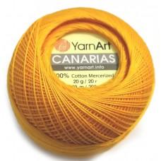 5307 Пряжа YarnArt Canarias желтый