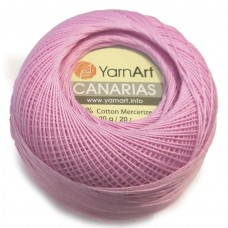 6319 Пряжа YarnArt Canarias розовый