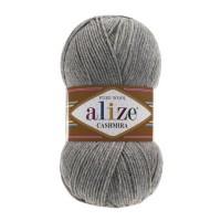 21 Пряжа Alize Cashmira серый меланж
