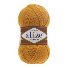 14 Пряжа Alize Cashmira темно-желтый