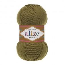 233 Пряжа Alize Cashmira зеленая черепаха