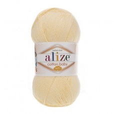 13 Пряжа Alize Cotton Baby Soft лимон