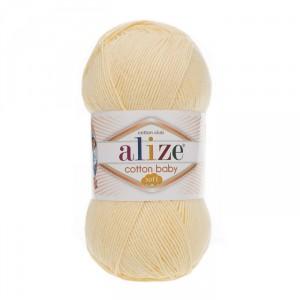 13 Пряжа Alize Cotton Baby Soft лимон