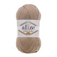 298 Пряжа Alize Cotton Baby Soft светло-бежевый