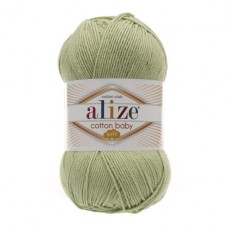 101 Пряжа Alize Cotton Baby Soft фисташка