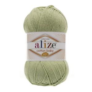 101 Пряжа Alize Cotton Baby Soft фисташка