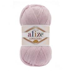 184 Пряжа Alize Cotton Baby Soft светло-розовый