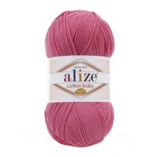 181 Пряжа Alize Cotton Baby Soft темно-розовый