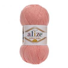 145 Пряжа Alize Cotton Baby Soft персиковый