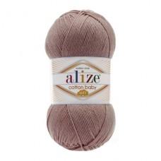 321 Пряжа Alize Cotton Baby Soft светлая корица