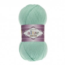 15 Пряжа Alize Cotton Gold водяная зелень