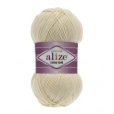 1 Пряжа Alize Cotton Gold молочный