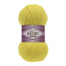 110 Пряжа Alize Cotton Gold желтый