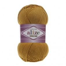 2 Пряжа Alize Cotton Gold горчичный