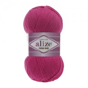 149 Пряжа Alize Cotton Gold фуксия